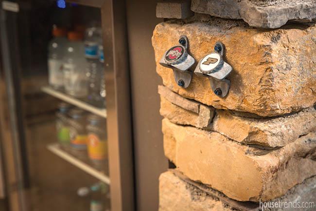 Bottle openers show off school spirit