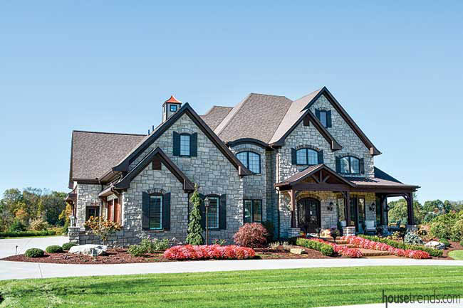 Landscaping adds curb appeal