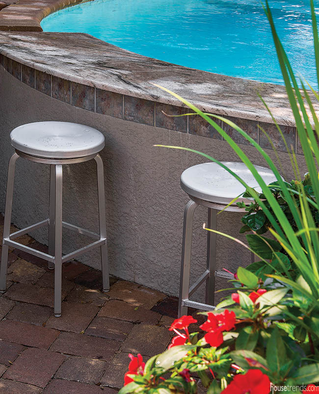 Backyard design keeps everyone comfortable