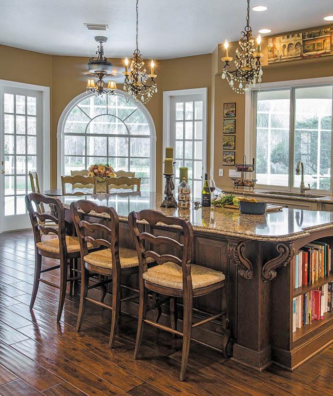 Remodel creates a classic kitchen design