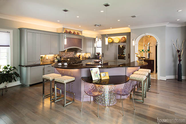 Cabinetry colors get creative