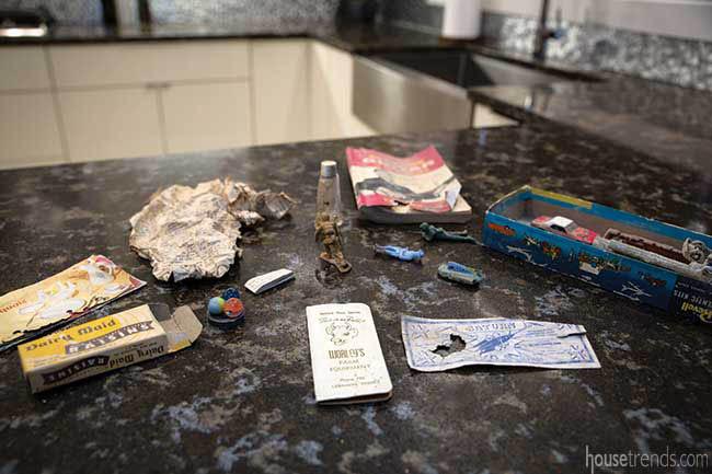 Remodel reveals hidden gems