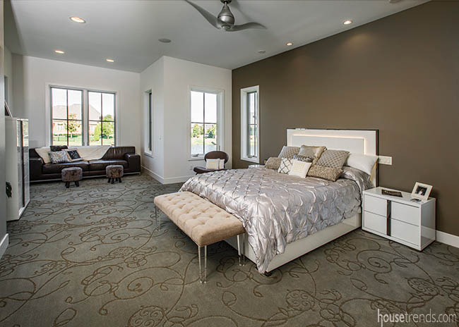 Mother-in-law suite with a minimalist design