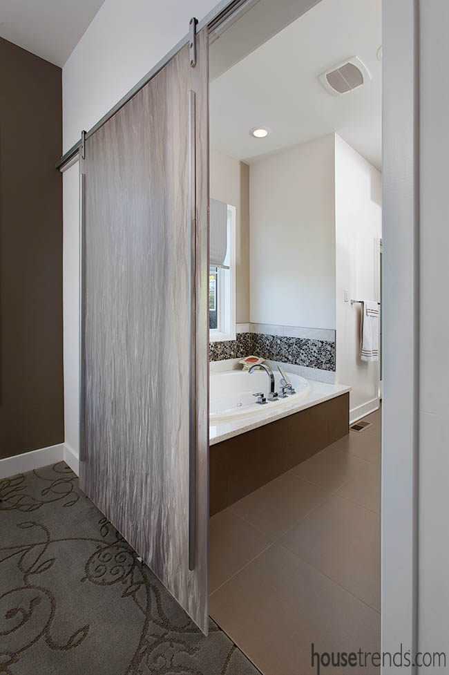 Bathroom designed with aging in place in mind