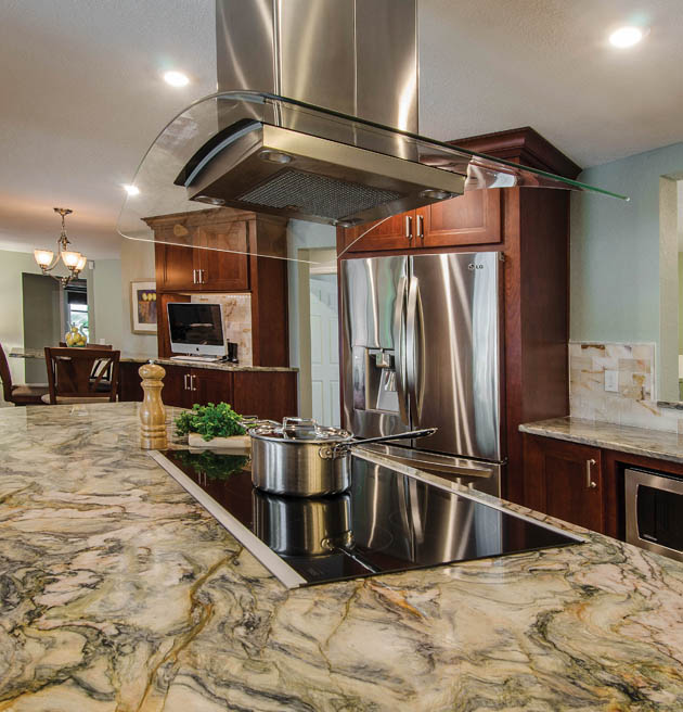 Family gets no hassle kitchen countertops