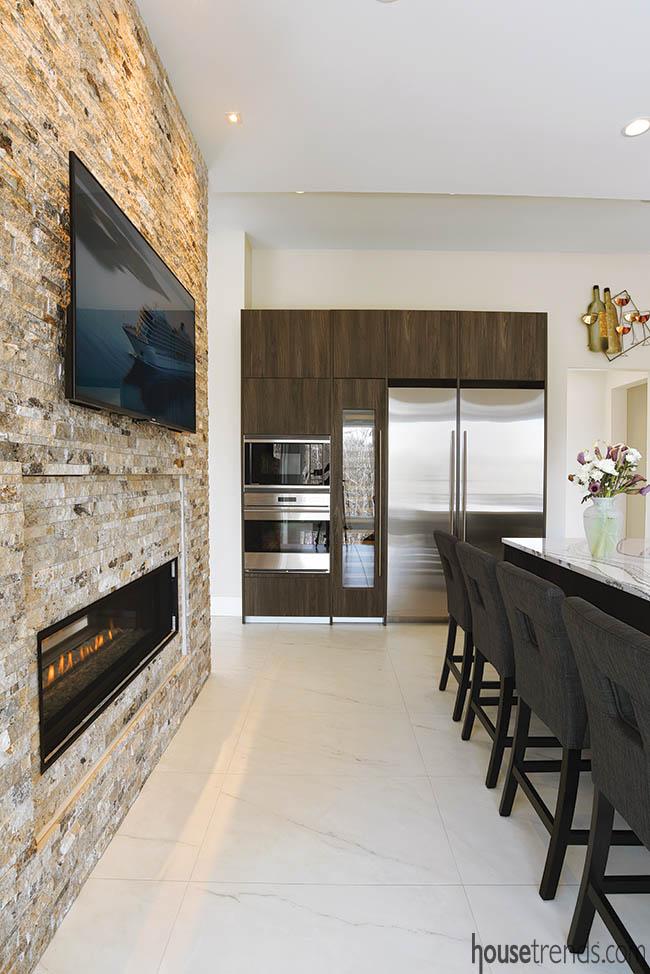 Appliances get convenient locations