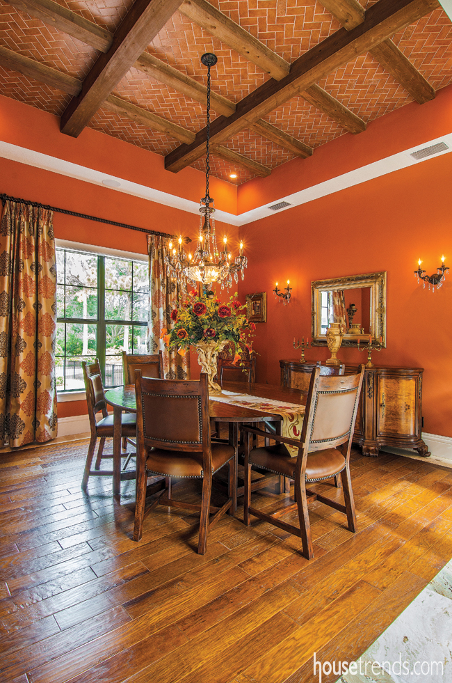 Dining room impresses all
