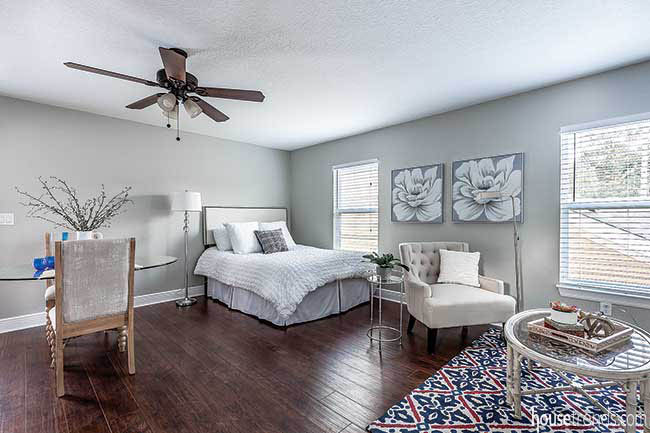 In-law suite with an open living design