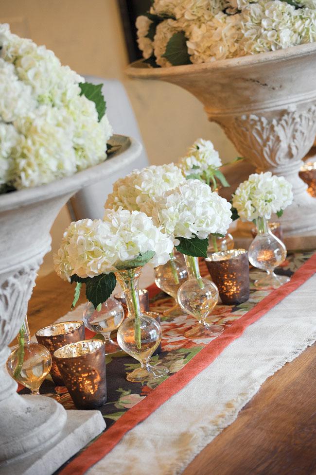 Interior designer added touches of elegance