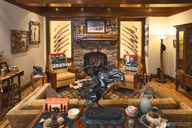 Country décor comes to the city