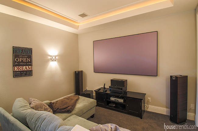 Media room design is an important element for many homeowners