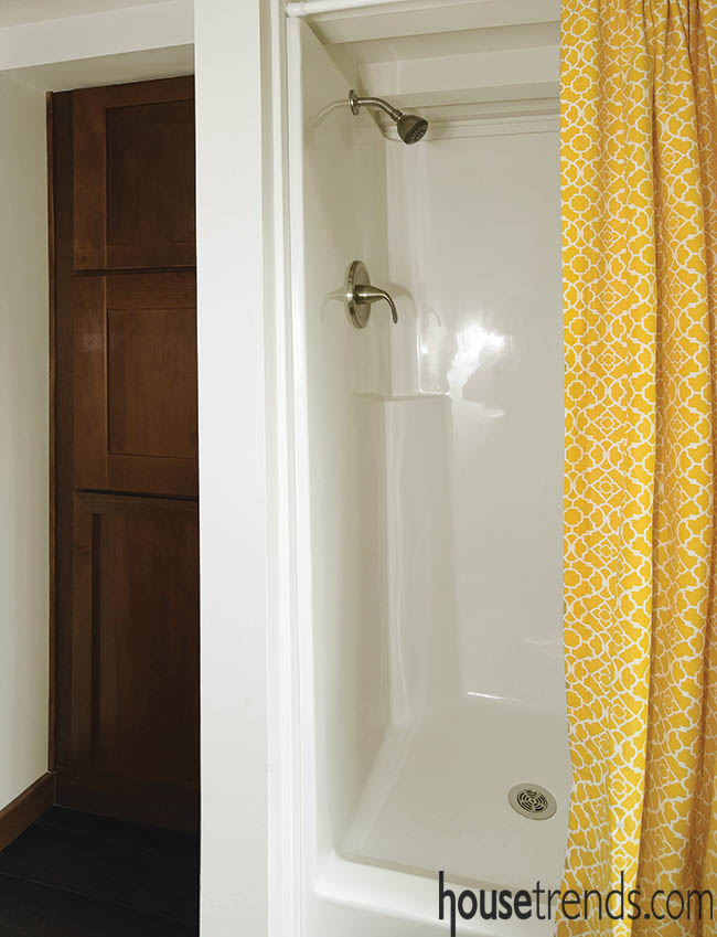 Shower design for a small space