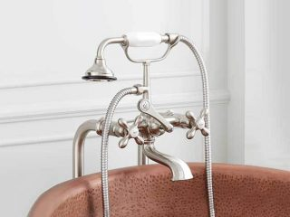 Freestanding English Telephone Tub Faucet from Signature Hardware