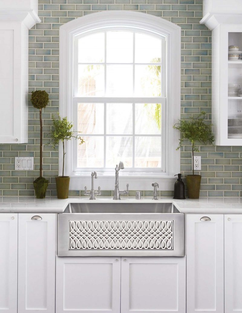Linkasink stainless steel farmhouse sink