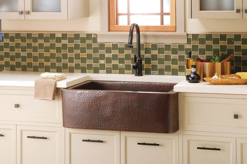 Native Trails copper farmhouse sink