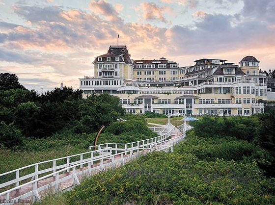 Reconstructed resort honors the past