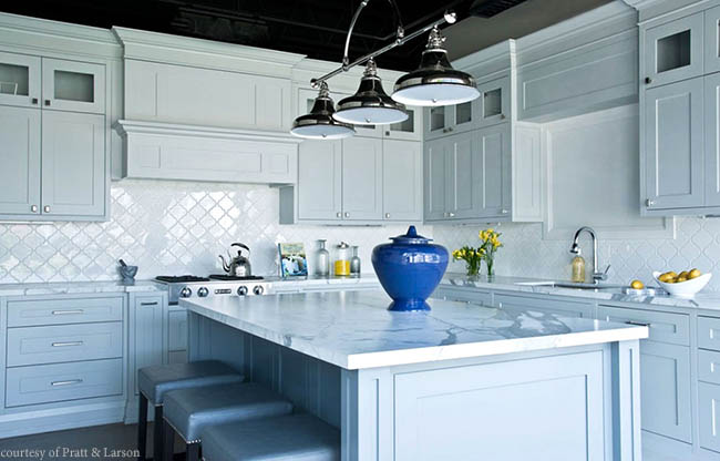 Tile shines in a kitchen design