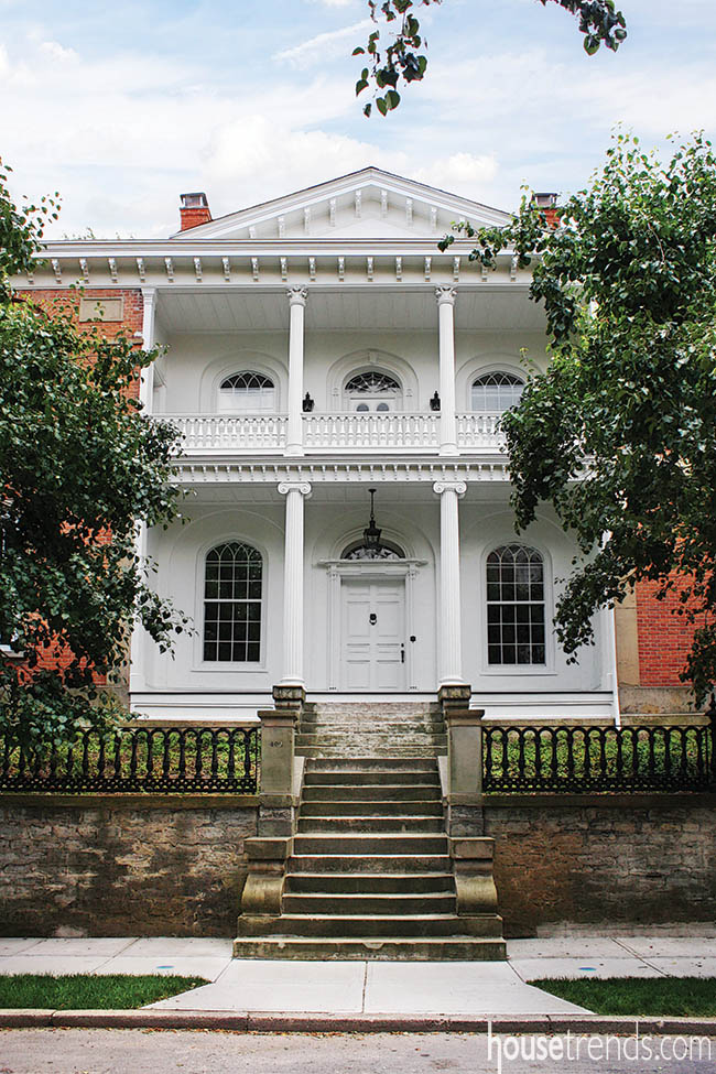 Historic home returns to former glory