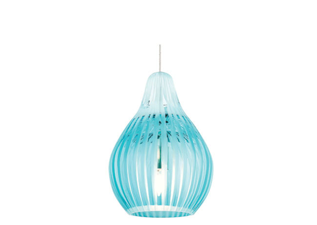 Fun colors keep a pendant light exciting