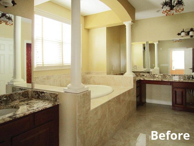 Bathroom remodeling ideas add masculinity