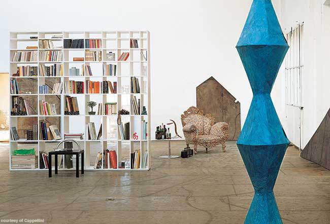 Bookshelf with plenty of storage space