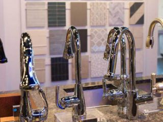 Kitchen faucets at Carr Supply