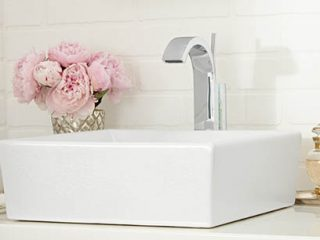 Sink and faucet from Carr Supply