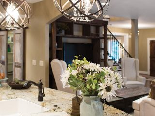 Area goes against the grain established by most remodeled kitchens