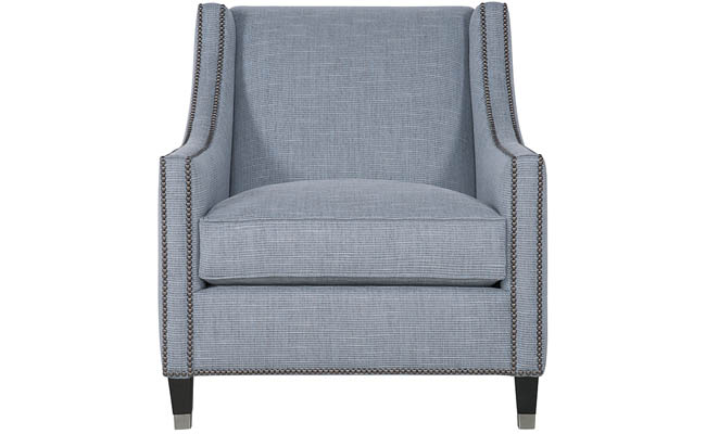 Living room chair designed for comfort