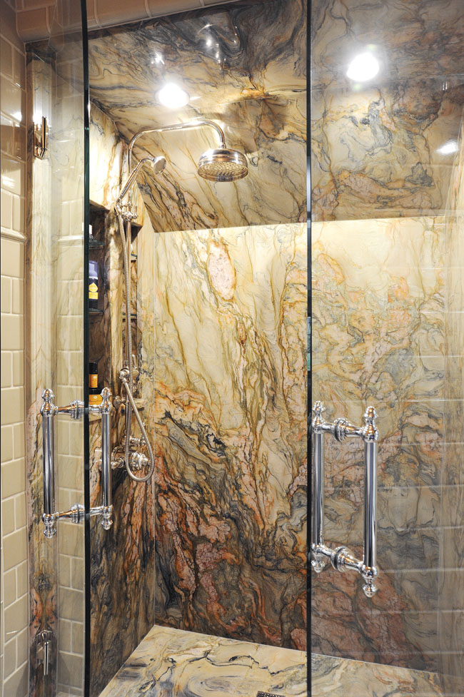 Shower remodel materials guarantee long-time usage