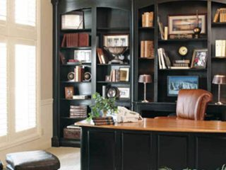 Home office from Coates Custom Homes