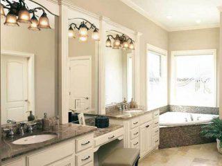 Master bathroom from Coates Custom Homes