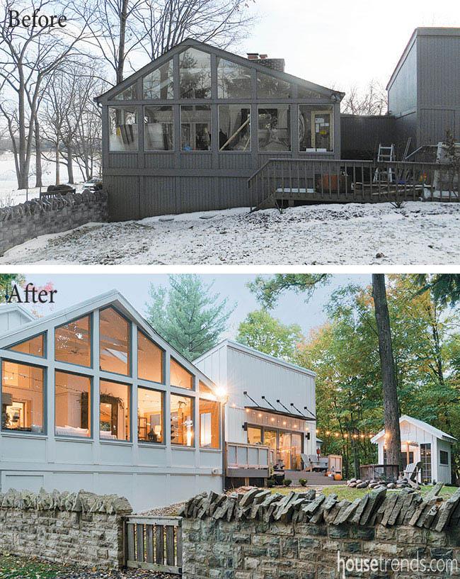 Remodeling ideas create a farmhouse feel