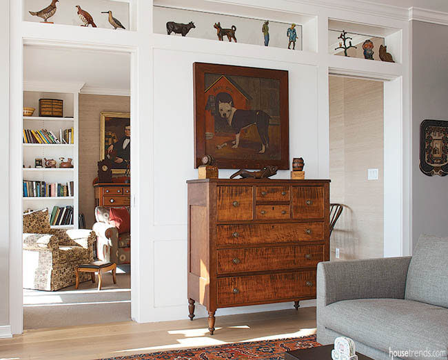 Decorating ideas mix the old and new