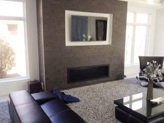 Fireplace project from Dayton Fireplace Systems