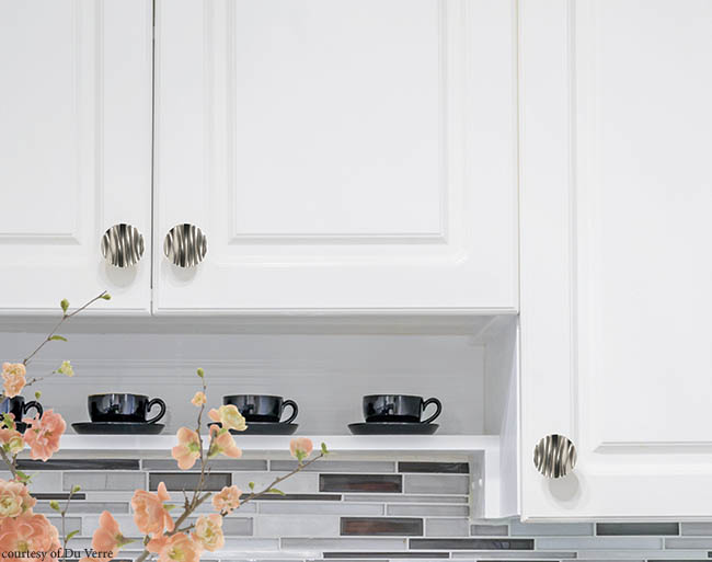 Kitchen hardware made of recycled material