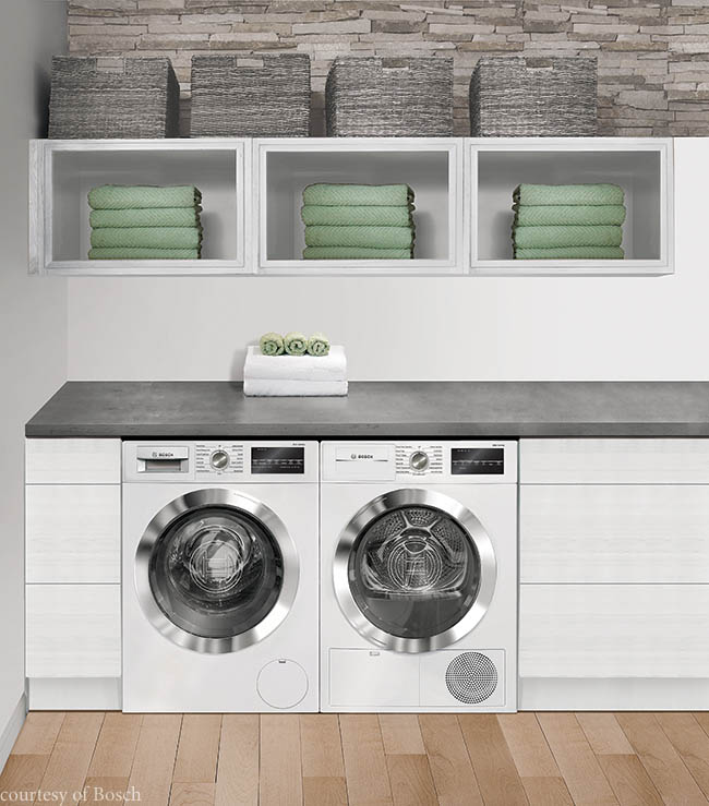 Washer and dryer offer a variety of installation options