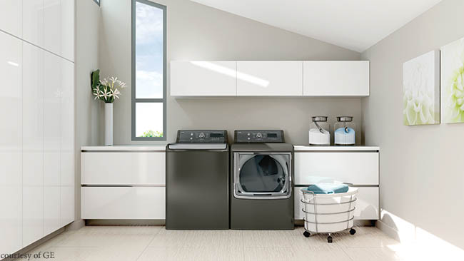 Washer and dryer easily managed with smartphone