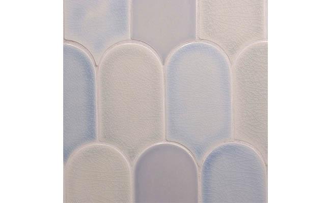 Tile in a calming color scheme