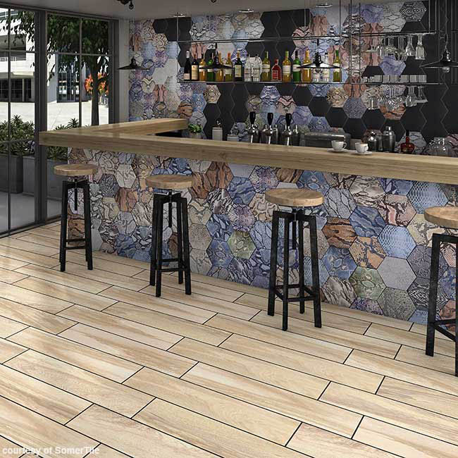 Tiles boasts a variety of design options