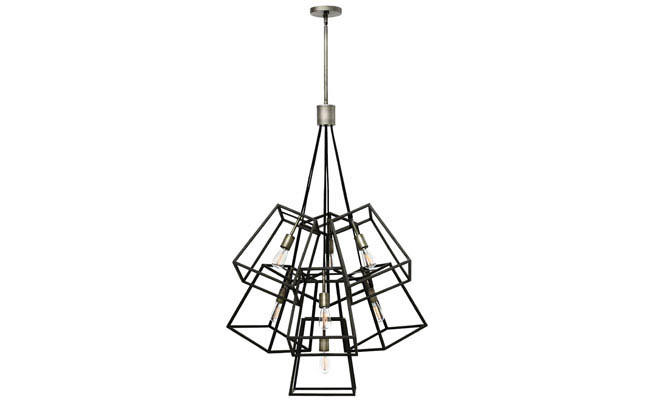 Chandelier offers a bold lighting option