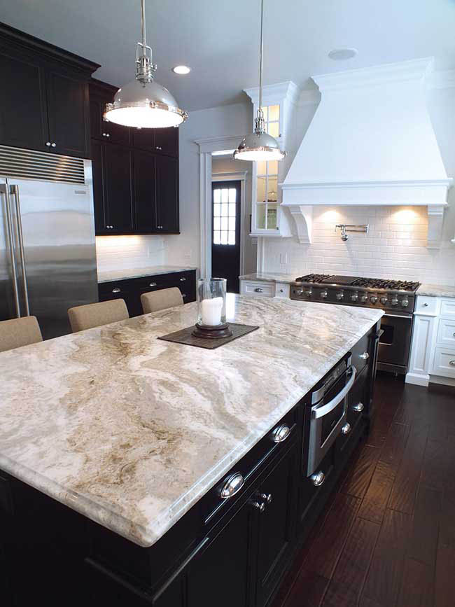 Island countertop from Granex Industries
