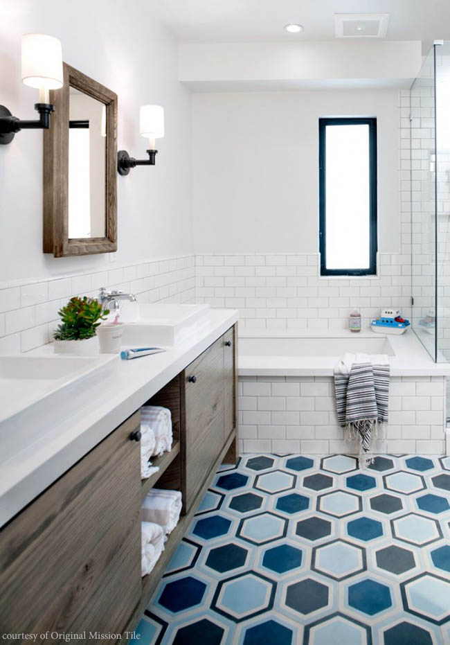 Hexagonal Collection from Original Mission Tile
