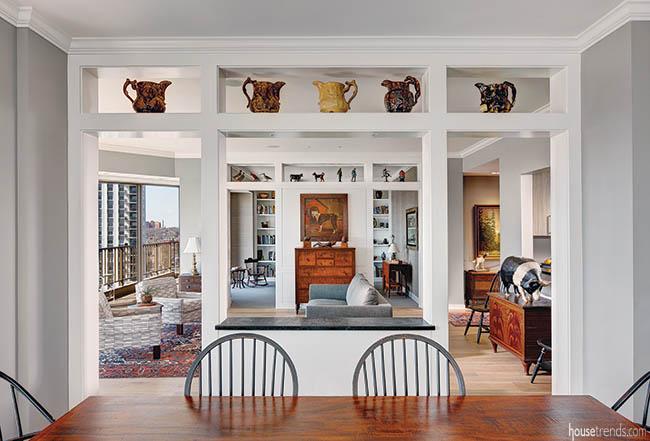 Dining room decor reflects history
