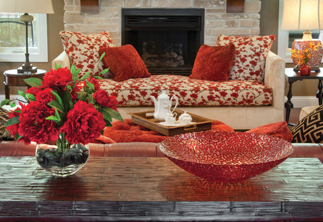 Color schemes for living room