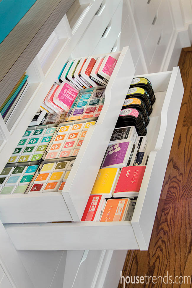 Home office organization keeps a space practical
