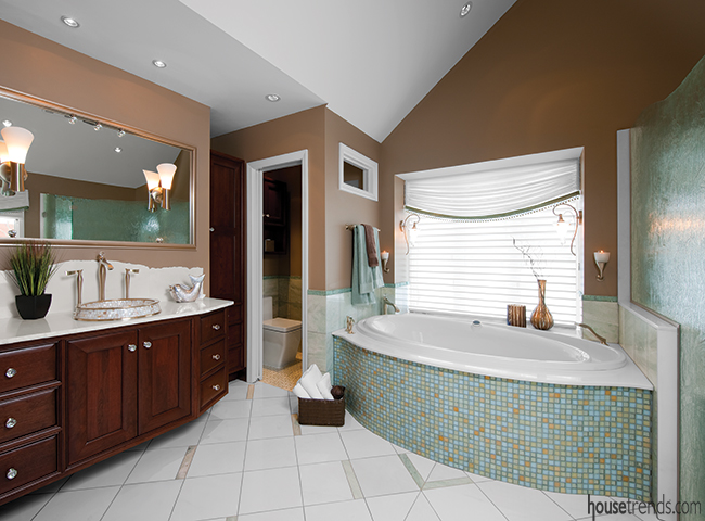 Sinks add elegance and style to the bathroom