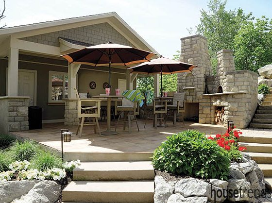 Pool house designs go above the norm
