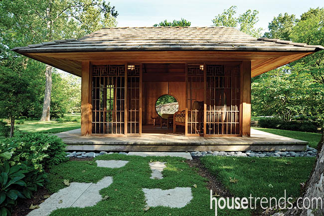 Garden ideas don't stray from tradition