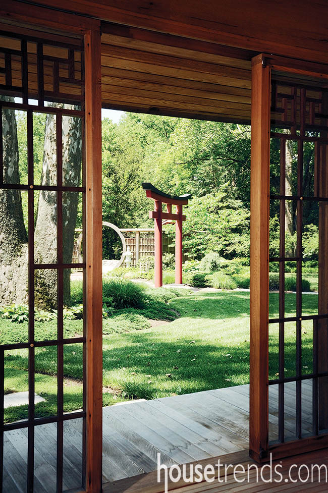 Garden ideas mix beauty and a calming atmosphere
